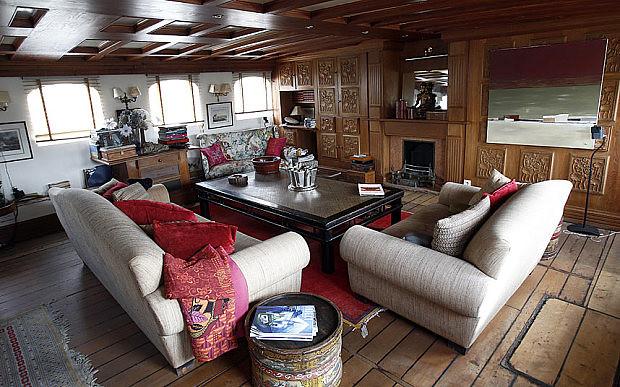 Большой катер Черчилля Amazon от Thornycroft