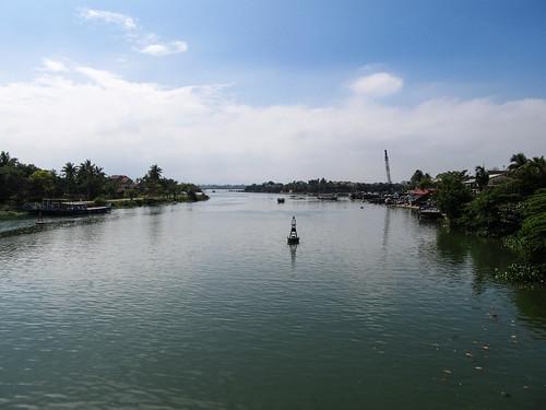 Hoi An: la rivière Thu Bon