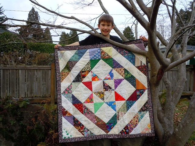 Signature Birthday Block Quilt