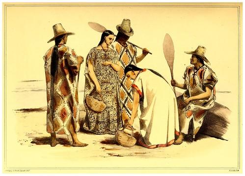 008-Vestimente de los indios Moxos-Bolivia