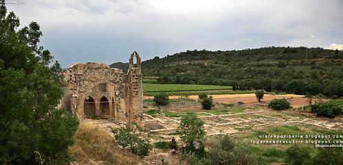 Monasterio de Santa María de la Vallsanta (Guimerà, Lleida)