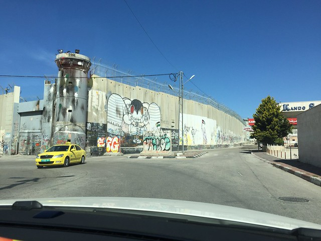 Israel-Palestine Wall in Bethlehem 2016