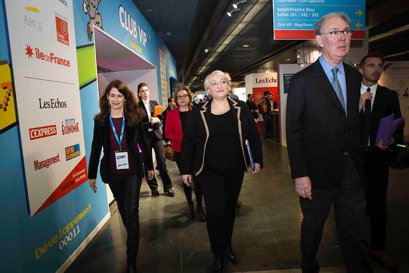 Salon des entrepreneurs : le gouvernement engagé pour l'entreprenariat féminin