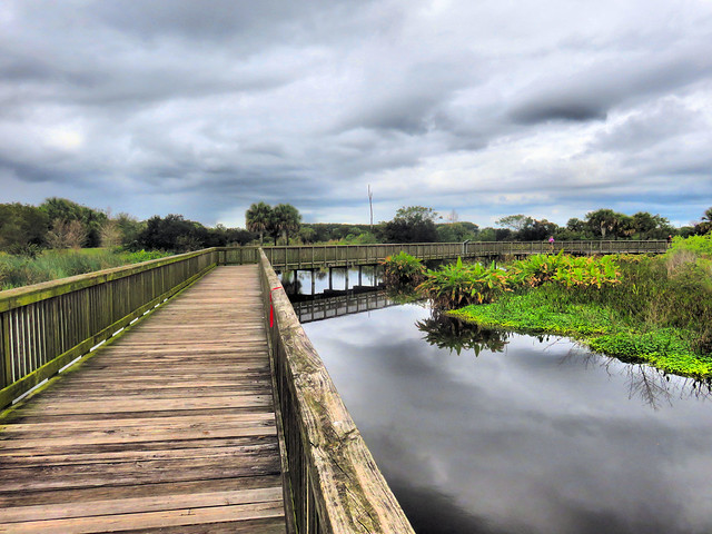 Peaceful Waters boardwalk HDR 20160221