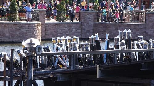 Epcot Bridge Raising and Illuminations Barges (8)