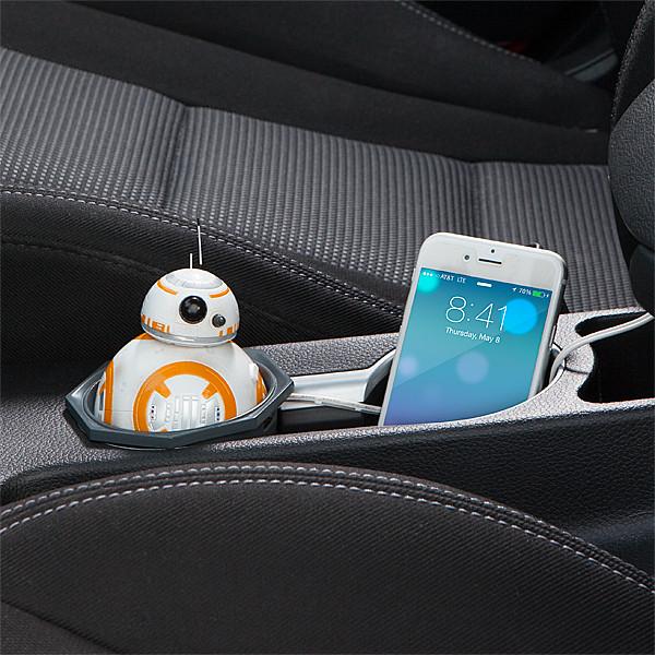 ThinkGeek【BB-8。車用充電器】你們準備好一起去找路克了嗎?!