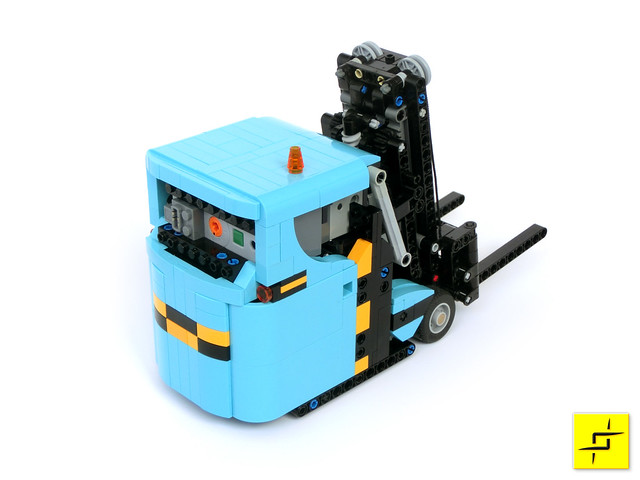 Muravi Mini Forklift Bricknerd Your Place For All Things Lego