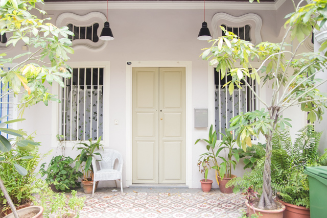 Peranakan architecture in Singapore