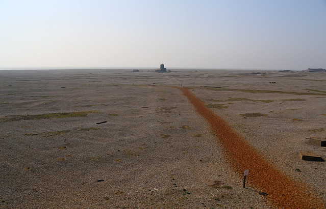 Path to Orford Ness Lighthouse