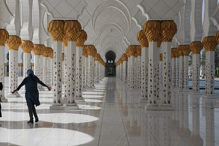 Image of Sheikh Zayed Grand Mosque near Abu Dhabi. uae abudhabi unitedarabemirates sheikhzayedgrandmosque