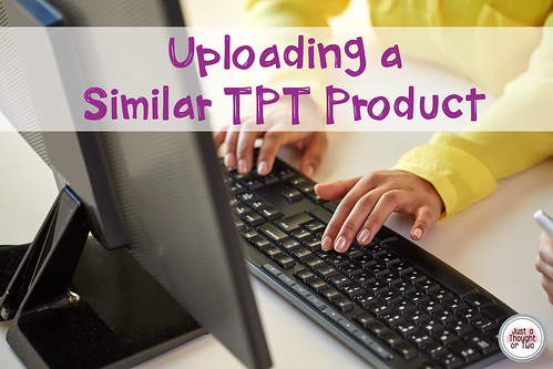 Uploading Similar TpT Products - video
