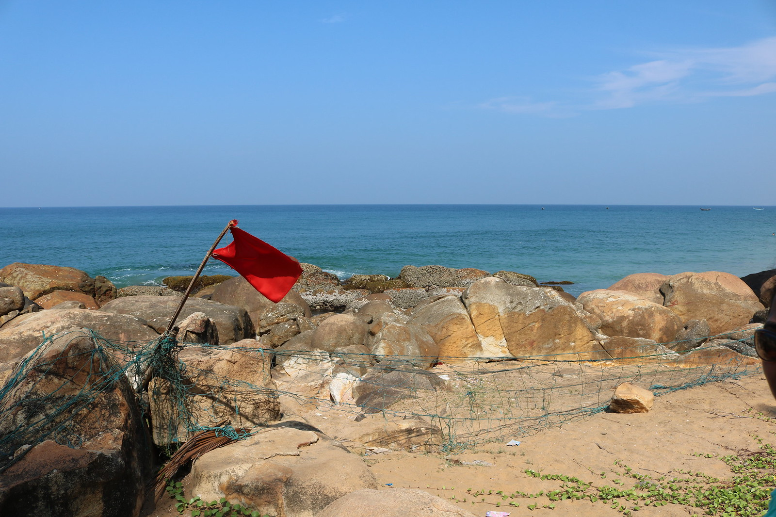 Red Flag @ Grow Beach
