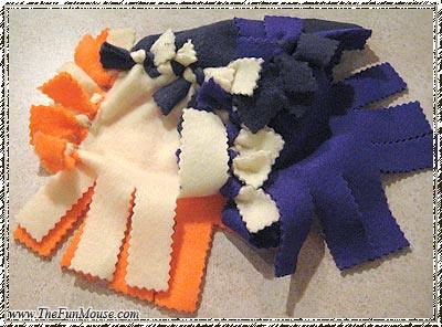 How to: No Sew Fleece Cube / Box Shelf 26026639350_9e579a5033