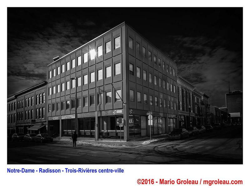 Notre-Dame - Radisson - Trois-Rivières centre-ville