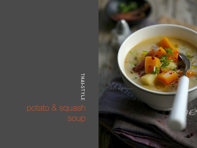 thai-style potato and squash soup