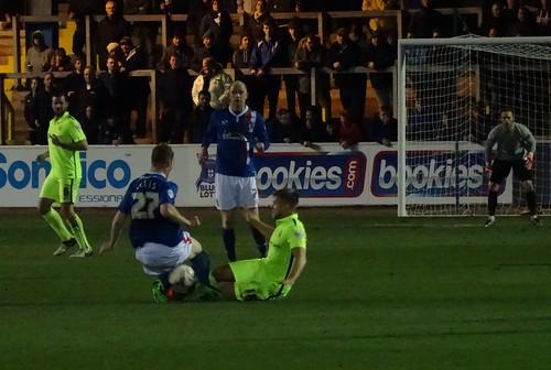 Division 2: Carlisle United FC 1:0 Hartlepool United FC (Brunton Park)
