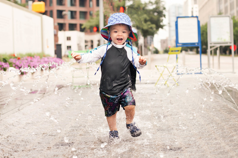 cute & little blog | dylan splash park