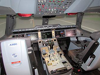Airbus simulador A350 Miami (Airbus)