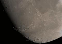 Moon Nikon D5300 Celestron 24-8mm Zoom Lens through Celestron 8SE