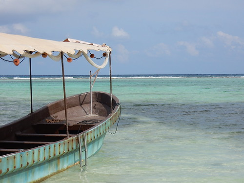 Mahahual - boot in juiste kleur