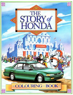 1993 Honda Colouring Book (Canada)