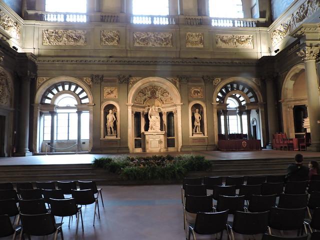 Salone del Cinquecento a Palazzo Vecchio
