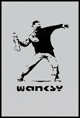 Banksy/Wanksy!