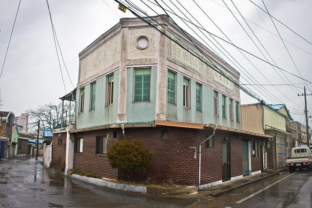 Former Singwang and Hwasin store, Ganggyeong-eup, South Korea