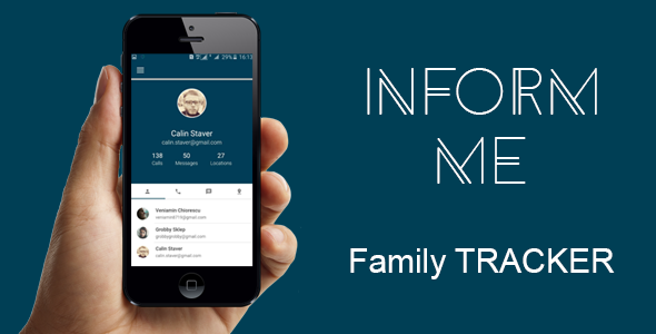 Codecanyon Inform me - Family Tracker