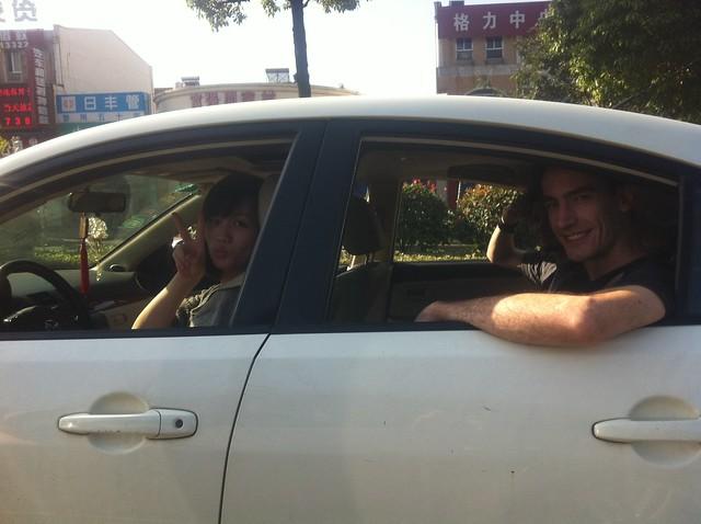 Wuxi with the Changzhou Crew