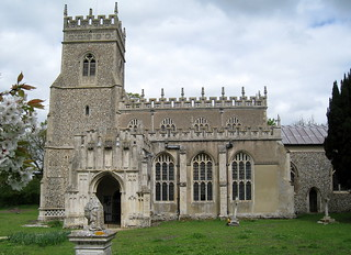 The Church of St Ethelbert, Hessett, Suffolk, England (from the south)