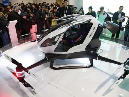 Китайці презентували безпілотне таксі