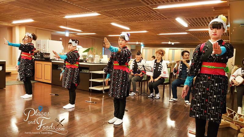 Hotel Mori no Kaze Tazawako akita dance