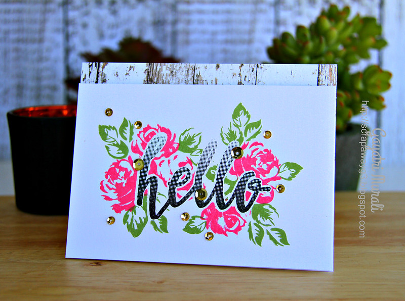 Hello card #1