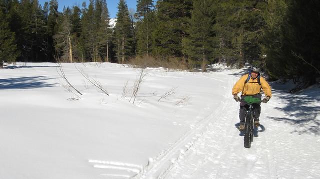 Burnside Lake Snow Ride