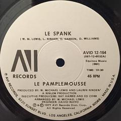 LE PAMPLEMOUSSE:LE SPANK(LABEL SIDE-A)