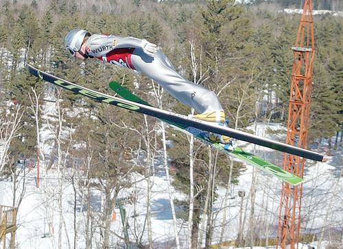 Mich ski jump