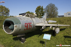 905 - 650905 - Polish Air Force - Mikoyan-Gurevich MiG-19PM - Polish Aviation Musuem - Krakow, Poland - 151010 - Steven Gray - IMG_0193
