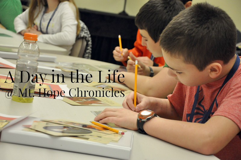 A Day in the Life - Monday @ Mt. Hope Chronicles