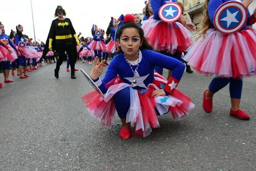 El Club David Rivas, Anfi y Alejandro Franco se llevan los premios del pasacalles de Carnaval