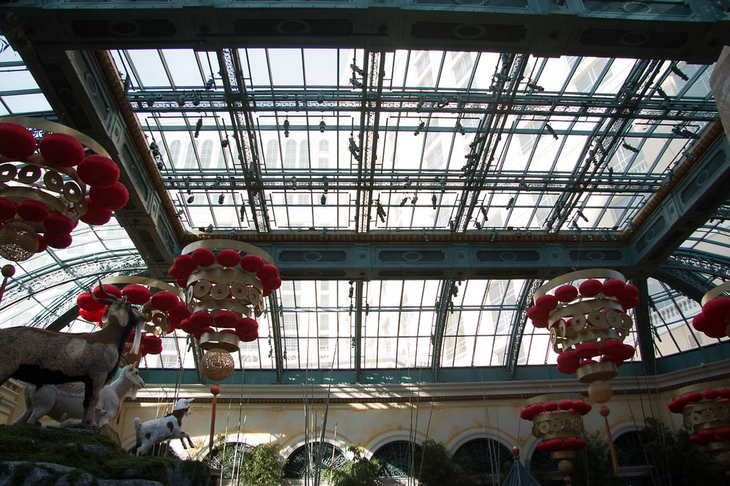 Bellagio conservatory during the day - Chinese New Year