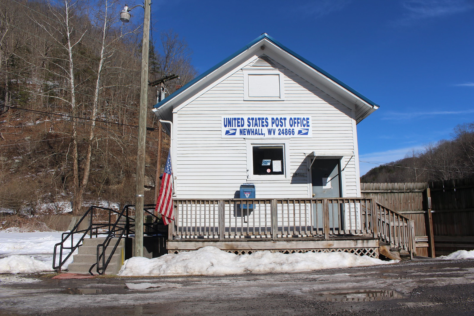 Newhall, West Virginia Post Office