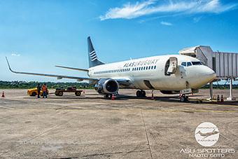 Alas Uruguay B737-300 en ASU (Naoto Goto ASU Spotters)