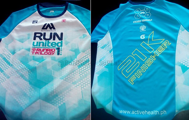 Run United 1 Finisher's Shirt