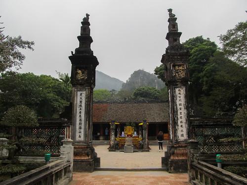 Hoa Lu: Temple des dynasties (d'empereurs) Dinh et Le