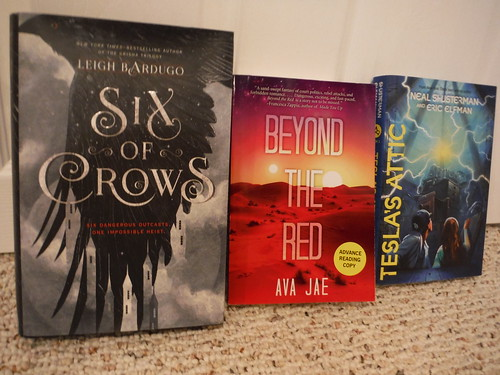 Six of Crows, Beyond the Red, Tesla's Attic