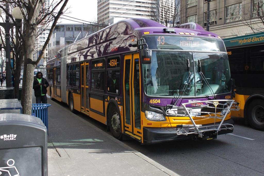 KCM 4504 in Downtown Seattle