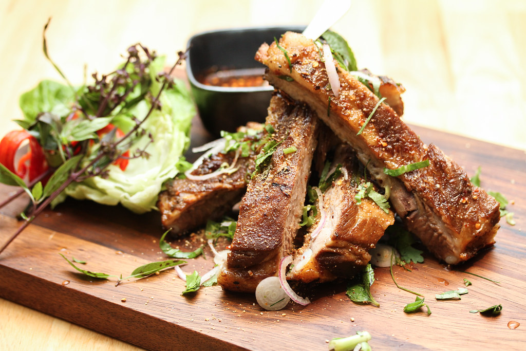 Wheelock Place: Bangkok Jam's Braised Pork Spare Rib
