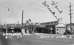Montlake Drive-In Market, 1937