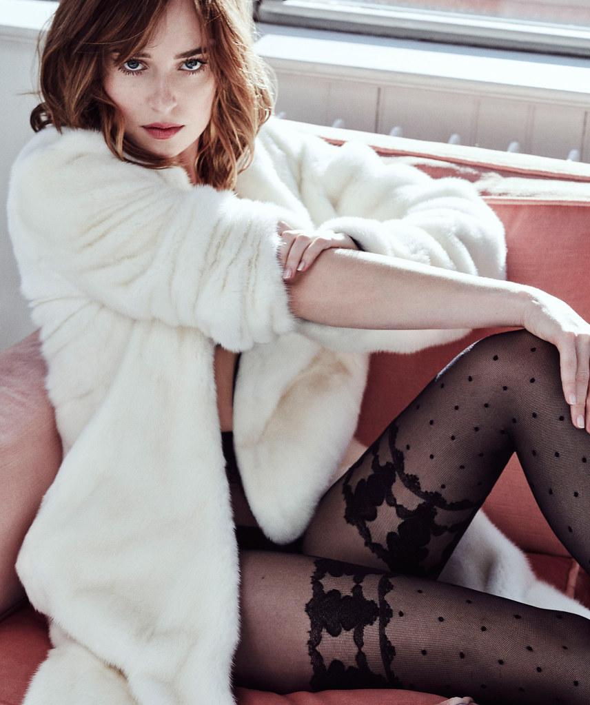 Дакота Джонсон — Фотосессия для «Marie Claire» 2016 – 2